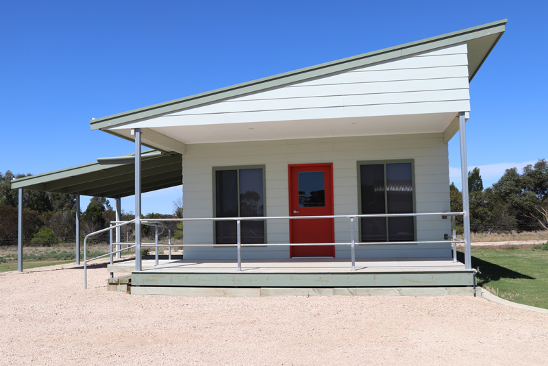 Accommodation cabin at Murrayview Park