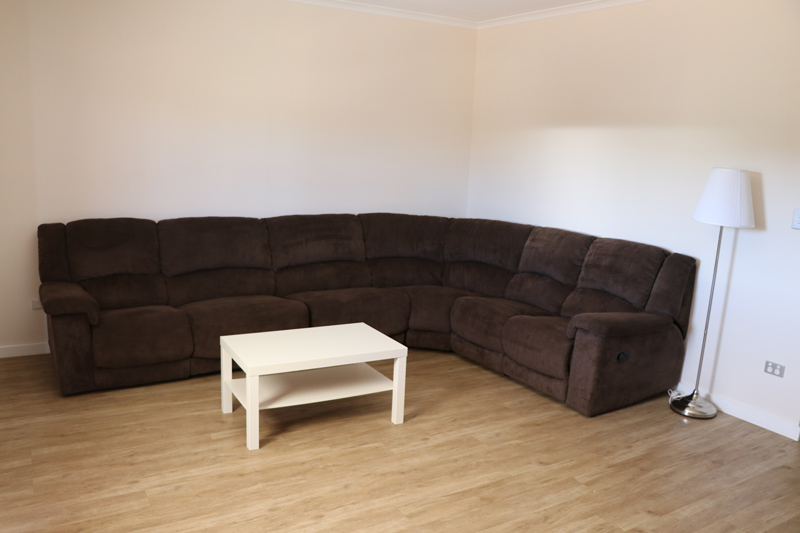 Lounge room at Murrayview Park Accommodation in Tailem Bend